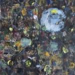 Große Farbimprovisation (6), Eitempera, Papier, Leinwand, 2012-2014, 135x117 cm