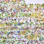 Großes Tagwerk 2  (250 Tage), Eitempera, Leinwand, 2008-2010, 150 x 200 cm