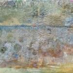 Landschaft am Meer (4a), Eitempera,Papier, Leinwand, 2013, 63x92 cm