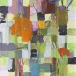 Stillleben mit Mohnblüte, Eitempera, Papier,  Pressspanplatte, 2013, 57 x 42 cm