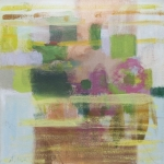 Kleine  Improvisation (7), Eitempera, Leinwand, 2011, 50 x 50 cm