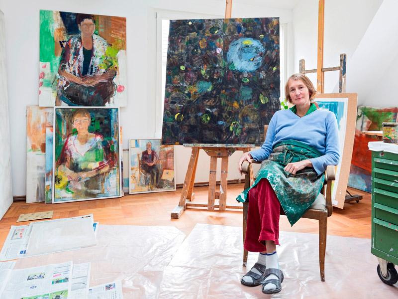 Im-Atelier-2014-Andrea-Humpert-Fasslrinner